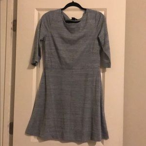 Greyish-blue dress